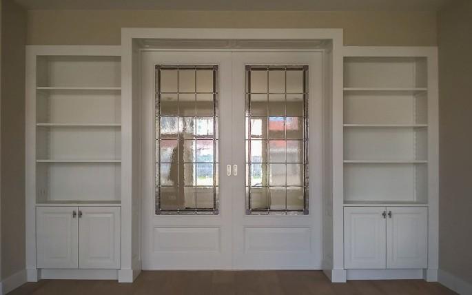 Favoriete Ensuite deuren met glas in lood - Stijlvol Glas in Lood @PJ58